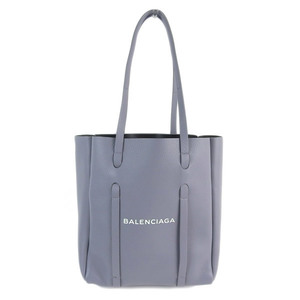 Genuine BALENCIAGA Balenciaga calf Everybody Day X S 2WAY tote bag gray Model number: 489813 Bag leather