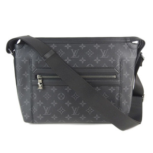 e84684a1015c Genuine LOUIS VUITTON Louis Vuitton Monogram Eclipse Odise Messenger PM  Model: M44223 Bag Leather
