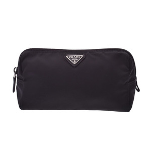 Prada Pouch Black 1NA693 Women's Nylon New Item Beauty Product PRADA Galla Used Ginzo