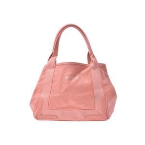 Balenciaga Navy Kabas S Pink Ladies Leather Handbag Tote Bag B Rank BALENCIAGA Used Ginzo