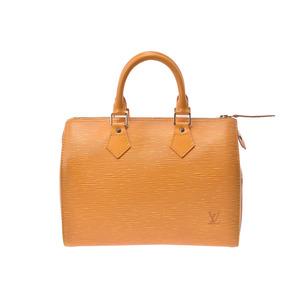 Louis Vuitton Epi Speedy 25 Yellow M43019 Ladies Genuine Leather Handbag AB Rank LOUIS VUITTON Used Ginzo