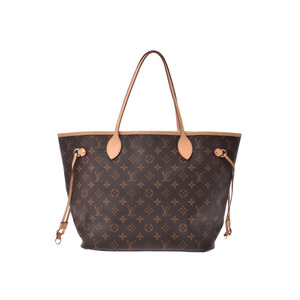 Louis Vuitton Monogram Neverfull MM Old Brown M40156 Tote Bag Ladies Genuine Leather AB Rank LOUIS VUITTON Used Ginzo