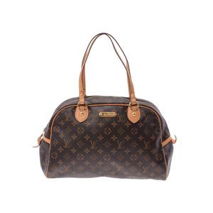 ルイ・ヴィトン(Louis Vuitton) ルイヴィトン モノグラム モントルグイユGM ブラウン M95566 メンズ レディース 本革 ハンドバッグ Bランク LOUIS VUITTON 中古 銀蔵