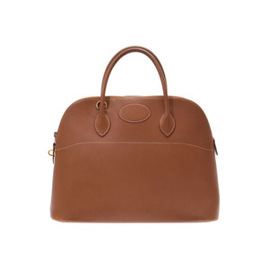 Hermes Bored 37 Gold G bracket □ A stamped Ladies Kush Bell 2WAY bag B rank HERMES with strap Used Ginzo