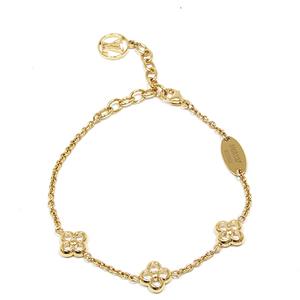 Louis Vuitton LOUIS VUITTON bracelet · Flower Full 15-19 cm M 68 127 GP Gold LV Circle