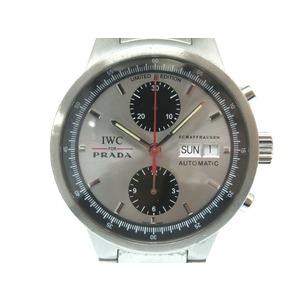 IWC × PRADA GSTクロノグラフ 2000本限定 IW370802 自動巻き 腕時計 SS オートマチック メンズ 0012インターナショナルウォッチカンパニー