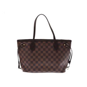 15585b014 Louis Vuitton Damier Neverfull PM Brown N41359 Ladies Genuine Leather  Handbag A rank LOUIS VUITTON with