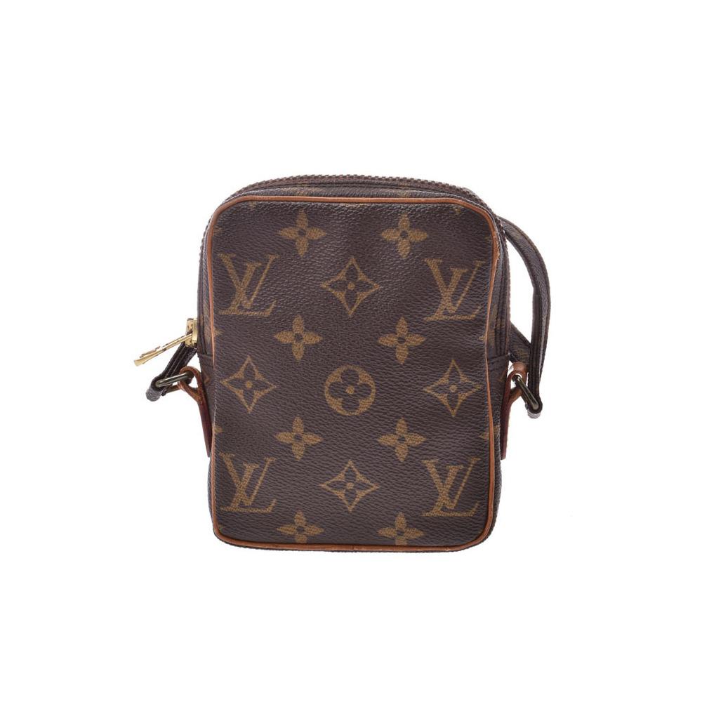 40a0be70e15 Louis Vuitton Monogram Mini Danube Brown M45268 Women's Genuine Leather  Shoulder Bag B Rank LOUIS VUITTON Used Ginzo | elady.com