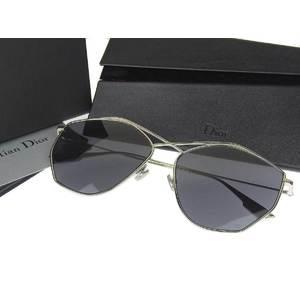 Christian Dior 3YGIR Sunglasses Eyewear Black Silver 59 □ 16 145 [20190329]