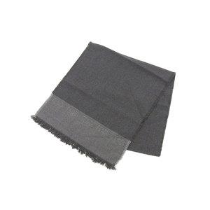 Unused FENDI Fendi wool 100% stall muffler gray [20180119]