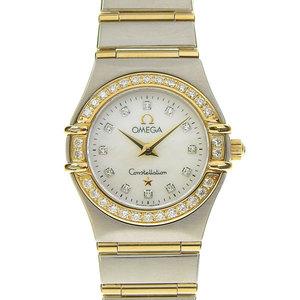 OMEGA オメガ OMEGA コンステレーションミニ ダイヤモンドベゼル レディース クオーツ 腕時計 1267.75