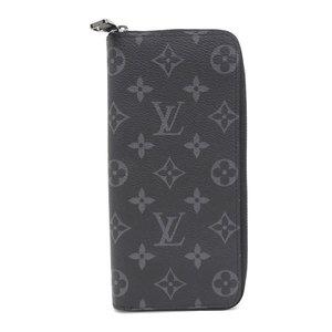 ルイ・ヴィトン(Louis Vuitton) LOUIS VUITTON ルイ ヴィトン LOUIS VUITTON モノグラム エクリプス ジッピーウォレット ヴェルティカル ラウンドファスナー 長財布 メンズ