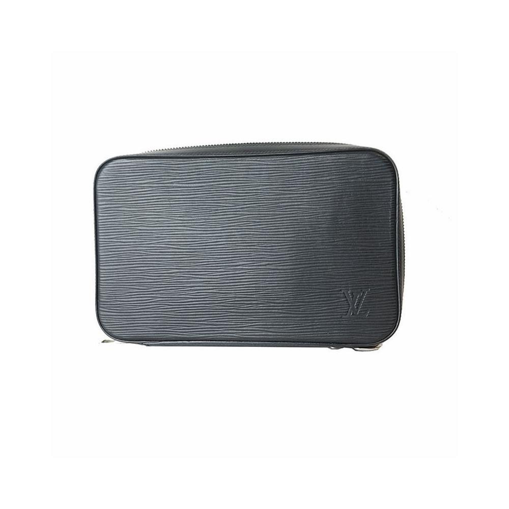 82cff8847f4d Louis Vuitton Epi Dandy Wallet M64000 Noir Men s Long LOUIS VUITTON