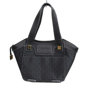 Loewe LOEWE New Road Shoulder 35380007 Cotton Calf Black
