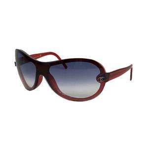 Chanel CHANEL KOKOMARK sunglasses 5066c749 8G red × black women