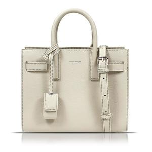 Saint Laurent SAINT LAURENT Classic Baby Sac De Jules 392035 Ivory Handbag Women