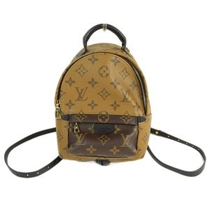 ff61f857c603 Genuine LOUIS VUITTON Louis Vuitton Monogram Reverse Backpack MINI Model   M42411 Bag Leather