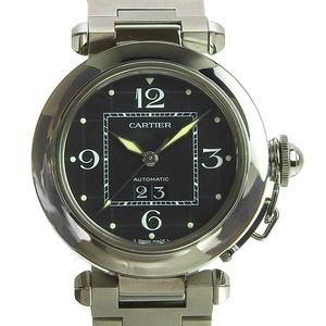 Authentic CARTIER Cartier Pasha Big Date Boys Automatic Watch Model: W31055M7