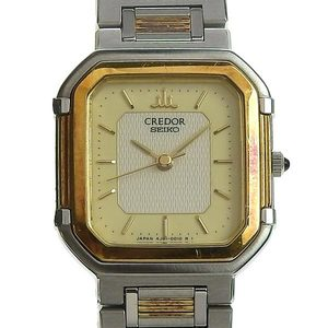 Authentic SEIKO Seiko Credor Ladies Quartz Watch 4J81-5000