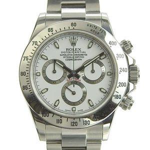 Genuine ROLEX Rolex Daytona Mens Automatic Watch Random White Dial Model: 116520