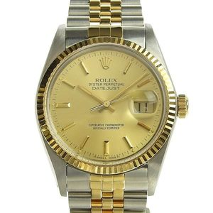 Genuine ROLEX Rolex Datejust Mens Automatic Wrist Watch Model No .: 16013 88