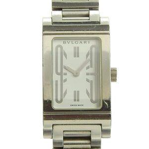 Genuine BVLGARI Bulgari Rettangoro Ladies Quartz Wrist Watch Model: RT39S