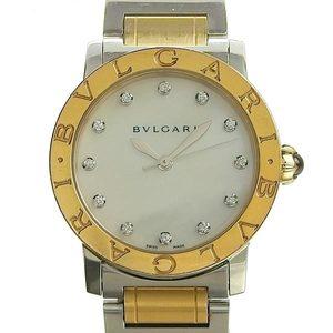 Genuine BVLGARI Bulgari Shell 12PD Boys Automatic Wrist Watch