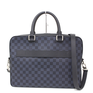 Louis Vuitton LOUIS VUITTON Damier Cobalt Porte de Cuman Business N41347 Shoulder Bag