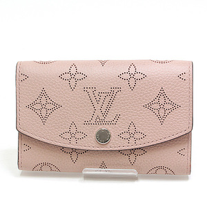 LOUIS VUITTON Louis Vuitton Mahina Portonet Anae Coin Purse Hawaii Limited M64050 Magnolia (Pink)