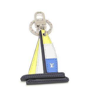 Louis Vuitton LOUIS VUITTON Porto Cle Voisier key holder bag charm M61918 America's Cup 2017