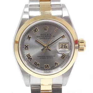ROLEX Rolex Ladies Watch Datejust 79163 No. Y (Made in 2002) Gray Roman
