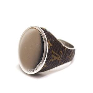 LOUIS VUITTON Louis Vuitton Chevalier Four Gentlemen oval ring MP2087 M size (19 issue)