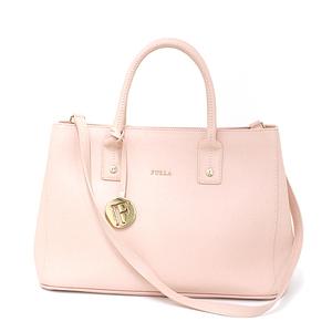 Furla FURLA 2WAY tote bag leather light pink gold hardware 222776 shoulder
