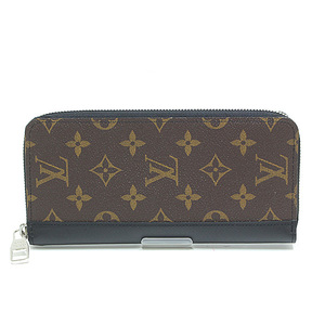 LOUIS VUITTON Louis Vuitton Monogram Macaser Zippy Wallet Vertical M60109
