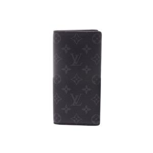 ルイ・ヴィトン (Louis Vuitton) ルイヴィトン エクリプス フラグメント ポルトフォイユ ブラザ M61697 メンズ 本革 長財布 未使用 美品 LOUIS VUITTON 中古 銀蔵