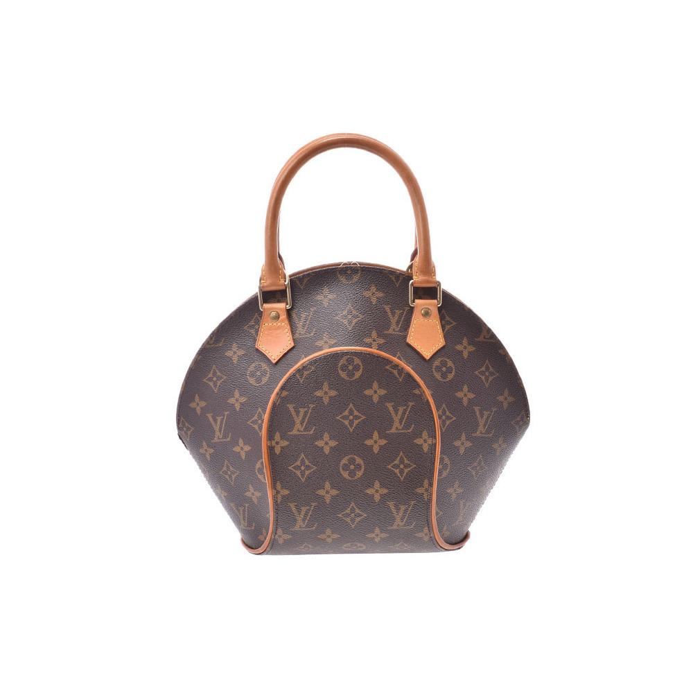 0bd95ab9dd46 Louis Vuitton Monogram Ellipse PM Brown M51127 Women s Genuine Leather  Handbag B Rank LOUIS VUITTON Used Ginzo