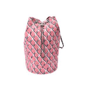 シャネル(Chanel) シャネル ココビーチコレクション ピンク SV金具 レディース キャンバス ワンショルダーバッグ Aランク 美品 CHANEL 中古 銀蔵