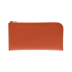 Hermes Remix Combine Who A Stamped Men's Women's Vaux Epson Long Wallet AB Rank HERMES Box