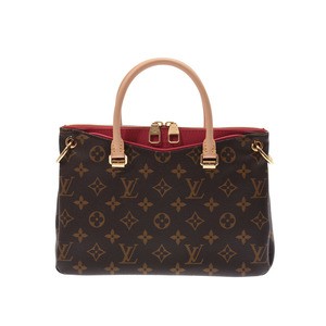 Louis Vuitton Monogram Paras BB Rose Bruyere M43476 Ladies Genuine Leather 2 WAY Handbag A rank beauty item LOUIS VUITTON with strap Used silver storehouse
