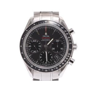 オメガ スピードマスター デイト クロノグラフ グレー文字盤 323.30.40.40 メンズ SS 自動巻 腕時計 Aランク 美品 OMEGA 中古 銀蔵