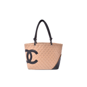 シャネル(Chanel) レザー バッグ ベージュ