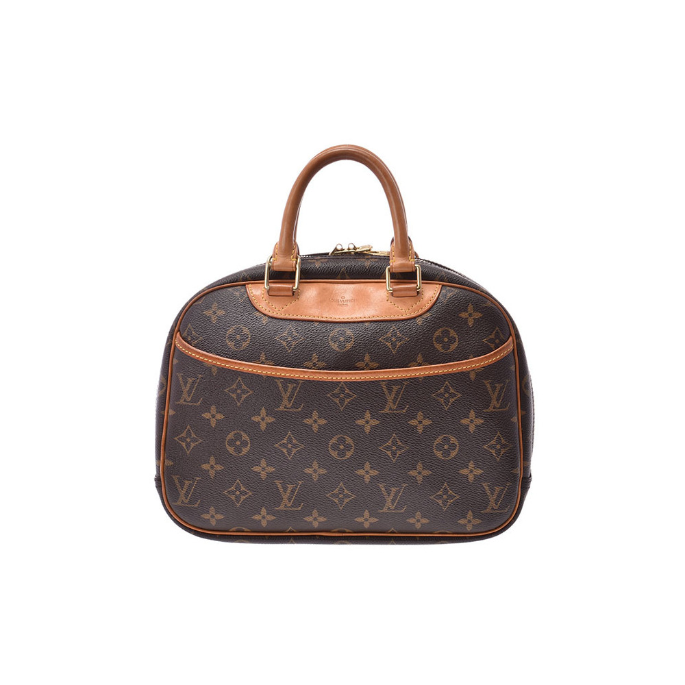Louis Vuitton Monogram Trueville Brown M 42228 Women's Genuine Leather Handbag B Rank LOUIS VUITTON Used Ginzo
