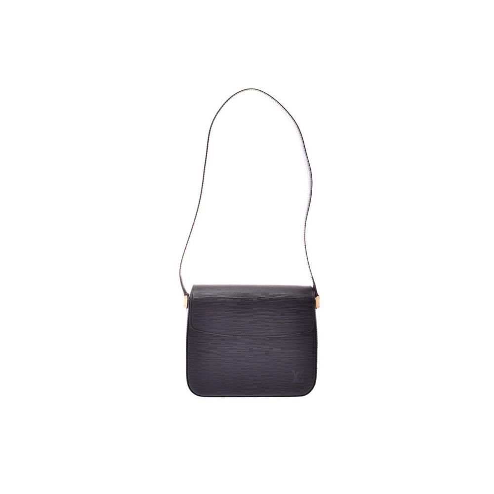 Louis Vuitton Epi Bushi Noir M52 202 Women's Genuine Leather Shoulder Bag A rank beauty item LOUIS VUITTON Used Ginzo