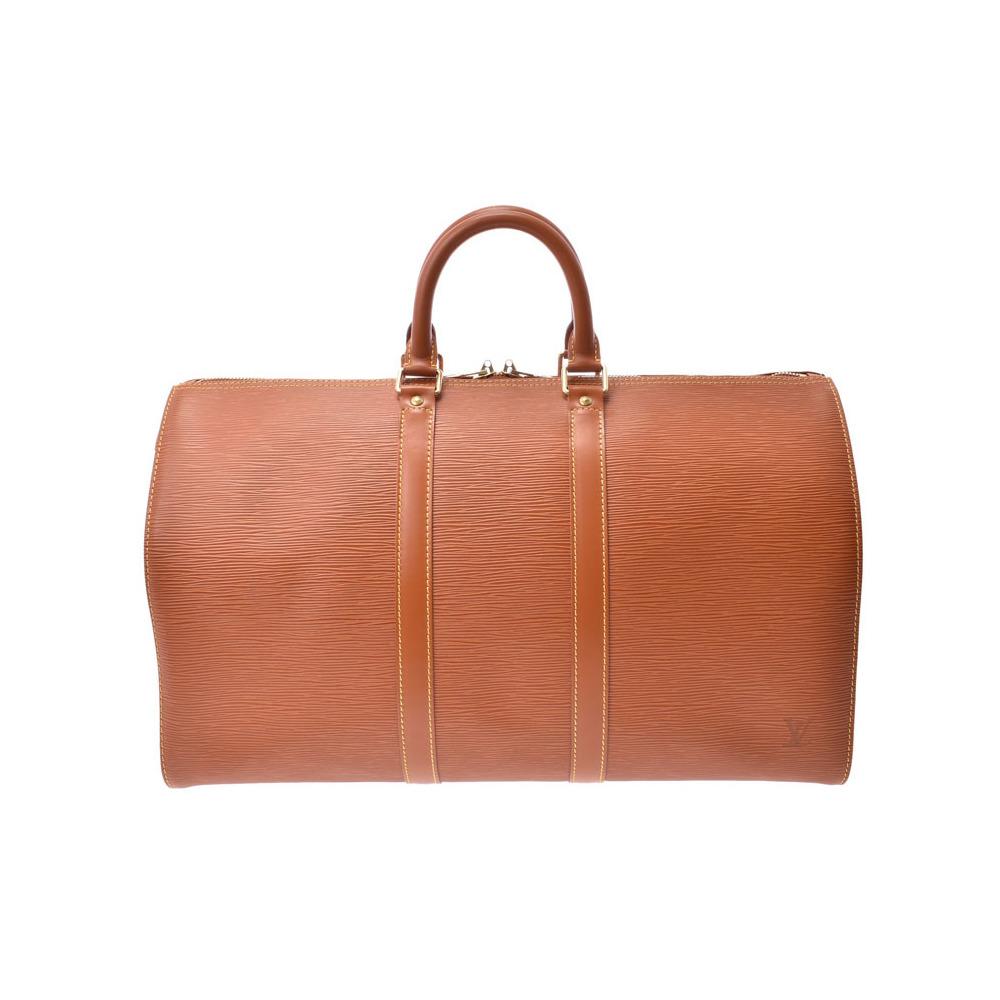 Louis Vuitton Epi Ki-Pol 45 Jibang Gold M42978 Men's Genuine Leather Boston Bag A Rank Beauty Product LOUIS VUITTON