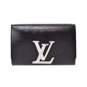 Louis Vuitton Epi Pochette Louise PM Noir Electric SV metal fittings M41627 Ladies Genuine leather Shoulder bag Clutch B rank LOUIS VUITTON Used Ginzo