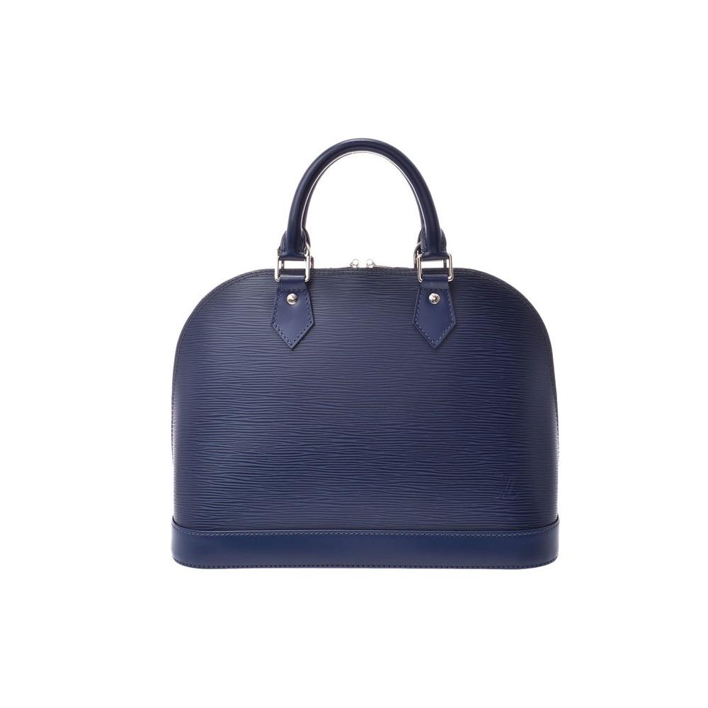 Louis Vuitton Epi Armor PM Andigo Blue M40620 Ladies Genuine Leather Handbag A Rank Beauty Product LOUIS VUITTON Used Ginzo