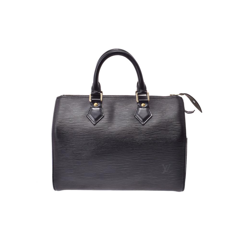 Louis Vuitton Epi Speedy 25 Black M43012 Ladies Genuine Leather Handbag B Rank LOUIS VUITTON Used Ginzo