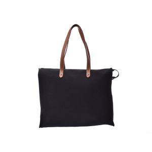 Hermes Tote bag Black SV bracket □ K stamped Men's Ladies Towar AB rank HERMES Used Ginzo