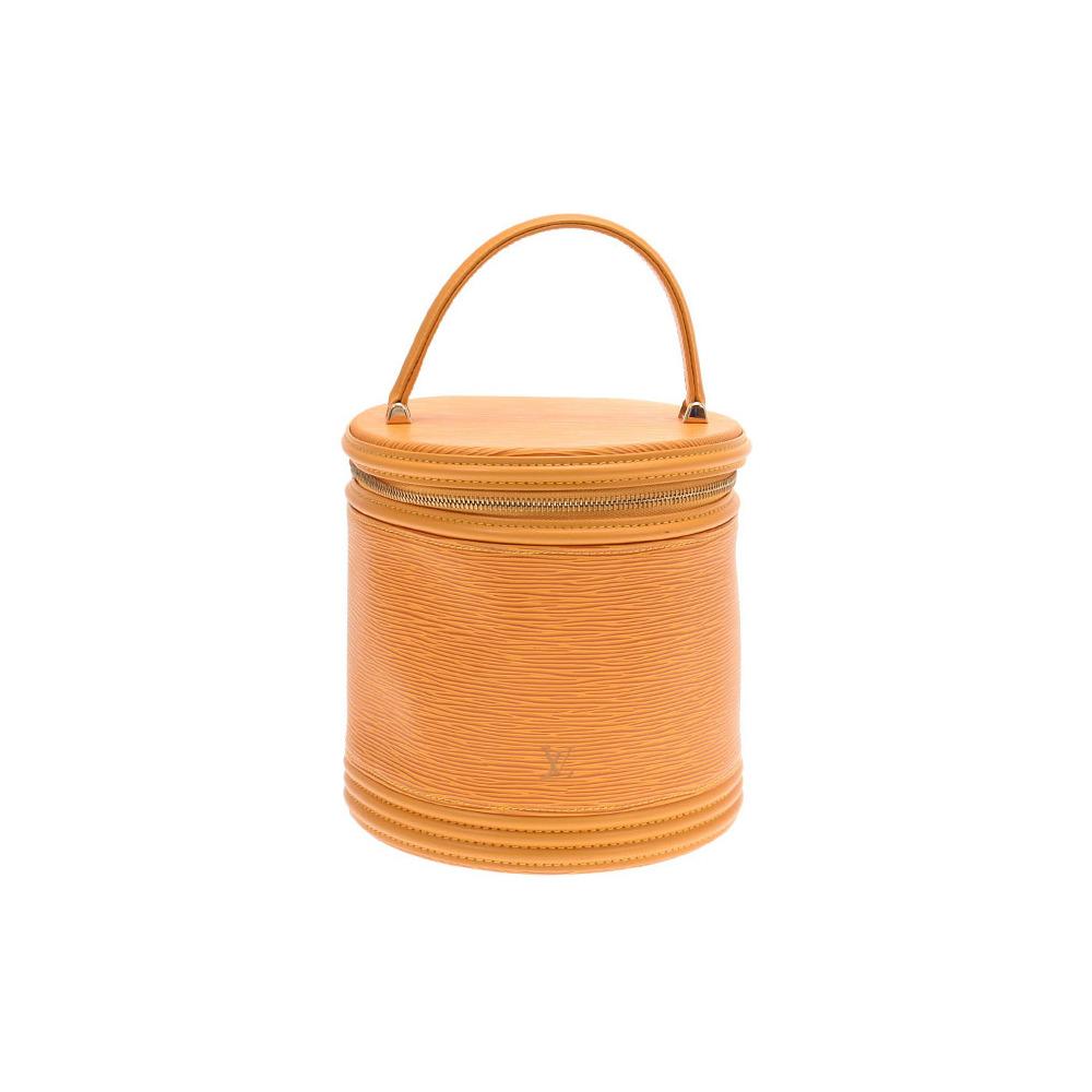 Louis Vuitton Epi Cannes Yellow M48039 Ladies Genuine Leather Handbag A rank LOUIS VUITTON Used Ginzo