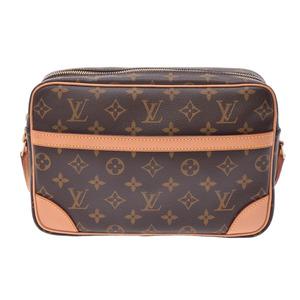 Louis Vuitton Monogram Trocadero S Brown M51274 Men's Women's Genuine Leather Shoulder Bag A Rank Beauty Product LOUIS VUITTON Used Ginzo